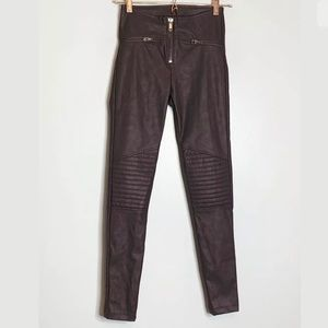 Divided By H & M | Pants Faux Leather Skinny Moto
